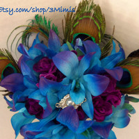 Dendrobium Orchid Wedding Bouquet