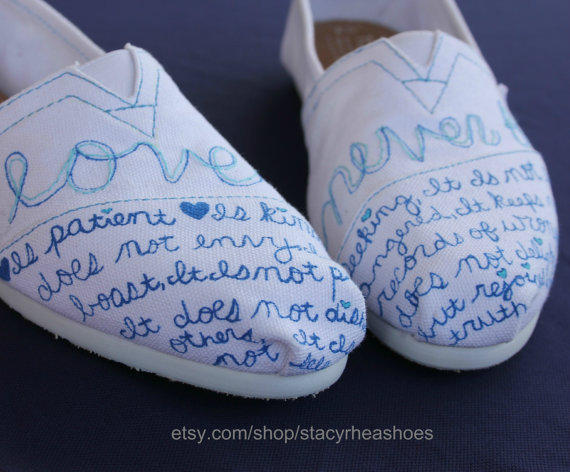 Love Never Fails Toms 1 Corinthians From Stacyrheashoes On
