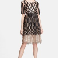 Tracy Reese Zigzag Fit & Flare