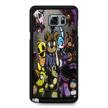 Five Nights At Freddys Samsung Galaxy Note 5 Case