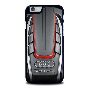 AUDI S6 TWIN TURBOCHARGED ENGINE iPhone 6 / 6S Case Cover