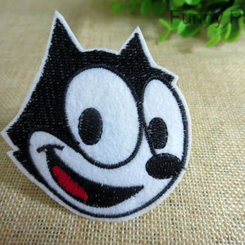 Happy Felix the Cat Iron on Applique 59-HA