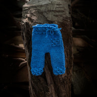 Newborn pants in blue or any color/ Newborn photo prop/ Newborn pants/ Newborn boy/ Newborn girl/ Newborn props/ Knit pants.