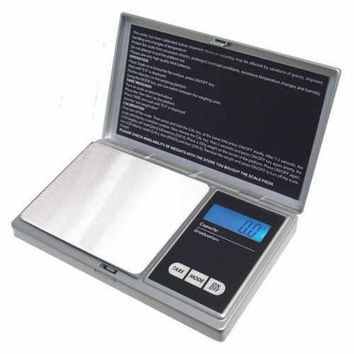 American Weigh Scales Signature Series Silver AWS-1KG-SIL Digital Pocket Scale 1000 by 0.1 G