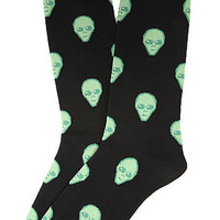 K. Bell The Aliens Socks in Black : Karmaloop.com - Global Concrete Culture