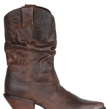 "Durango Womens Slouch Boots 10"" Brown RD3494"