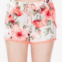 Hot Pop Floral Short