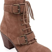 Splendid Carleton Lace-Up Bootie (Women) | Nordstrom