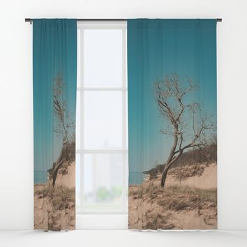 Stand Alone Window Curtains by Faded  Photos