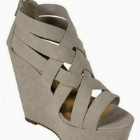 High in Love Wedges