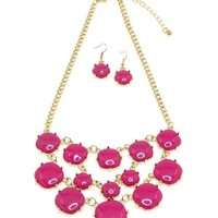 Bib Statement Necklace Set