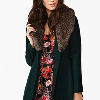 Florence Coat - Hunter Green