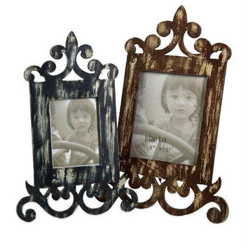 2 Picture Frames - Distressed