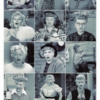 I Love Lucy Faces Prints at AllPosters.com