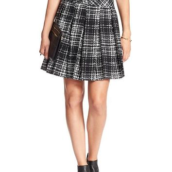 Banana Republic Womens Factory Plaid Mini Skirt