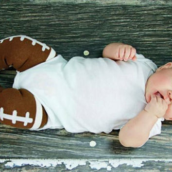SALE Football leg warmers, great for boys and girls, game day, cowboys, cheerleader