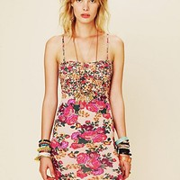 Free People Mix Print Bodycon