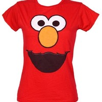 Sesame Street Red Elmo Women's T-shirt Medium