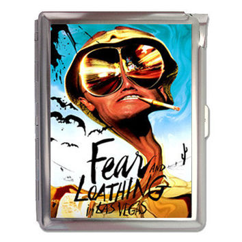 Fear And Loathing In Las Vegas Cigarette Case Lighter or Wallet Business Card Holder