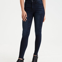 AEO Ne(x)t Level Super Hi-Rise Jegging, Dark Reflections