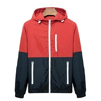 Windbreaker Zip up Jacket