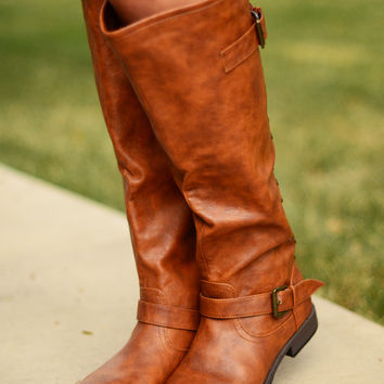 Stand By Me Boots - Chestnut