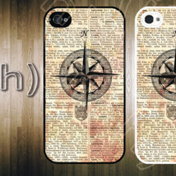 Nautical iPhone 4 Case Vintage SteamPunk