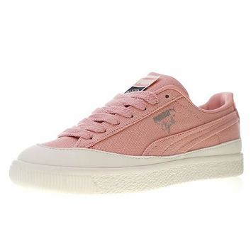 "Diamond Supply Co. x Puma Clyde Sneaker ""Pink"" 365651"