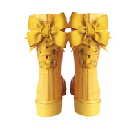 Timber & Tamber Rain Boots Rubber Gumboots Yellow