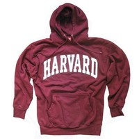 Harvard University Hoodie, Officially Licensed Hooded Sweatshirt XXL