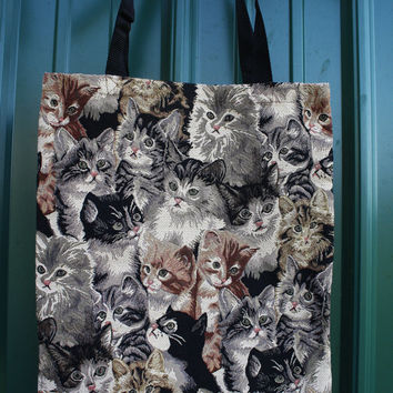 You're Kitten Me Tapestry Tote