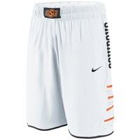Nike Oklahoma State Cowboys Replica Basketball Shorts - White