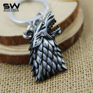 Game of Thrones Silver Keychain
