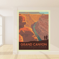 Anderson Design Group's GrandCanyon Mural wall decal
