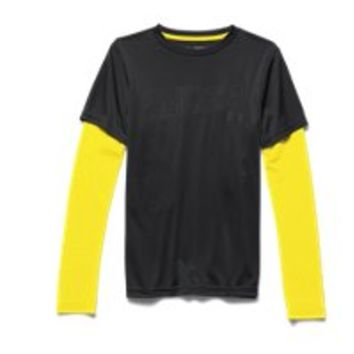 Under Armour Boys' UA Reflective 2-in-1 T-Shirt