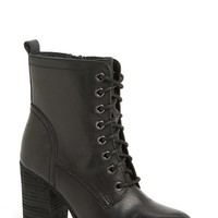 Women's Steve Madden 'Lauuren' Lace-Up Bootie,