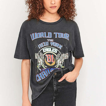 BDG Eagles World Tour New York Black T-shirt - Urban Outfitters