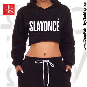 Slayonce Cropped Sweatshirt