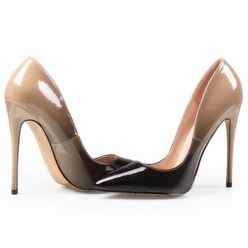 Pumps Shoes High Heels 12CM Luxury Designer