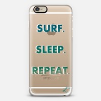 Surf. Sleep. Repeat. iPhone 6 case by Love Lunch Liftoff | Casetify