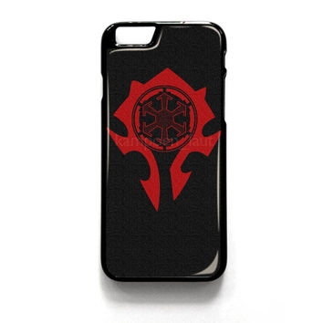 World Of Warcraft Horde iPhone 4 4S 5 5S 5C 6 6 Plus , iPod 4 5  , Samsung Galaxy S3 S4 S5 Note 3 Note 4 , and HTC One X M7 M8 Case