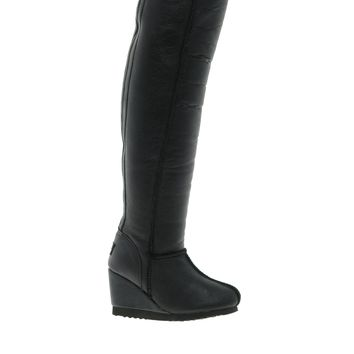 Love From Australia Zip Super Tall Wedge Boots