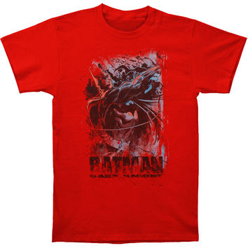 Batman Men's  Son Of Gotham T-shirt Red Rockabilia