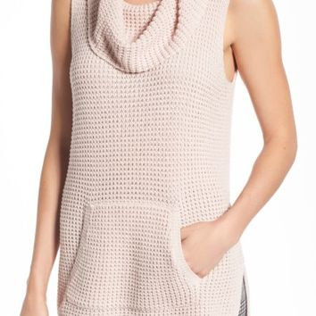 Two by Vince Camuto Waffle Stitch Vest (Regular & Petite) | Nordstrom