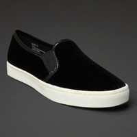 Velvet Canvas Shoes