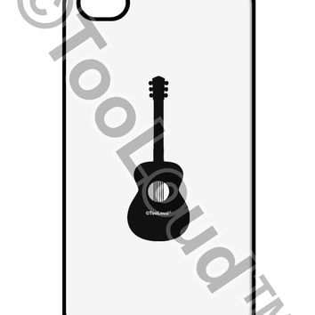 Acoustic Guitar Cool Musician iPhone 4 / 4S Case  by TooLoud