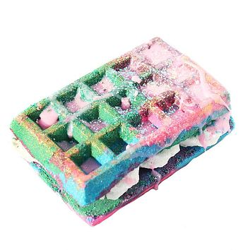 Original Recipe Waffle Sandwich Bath Bomb+ Bubble Bar