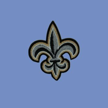 Fleur De Lis Iron On Patch
