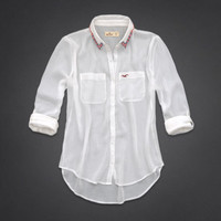 Tide Beach Chiffon Shirt