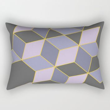 Off Color Rectangular Pillow by Ducky B